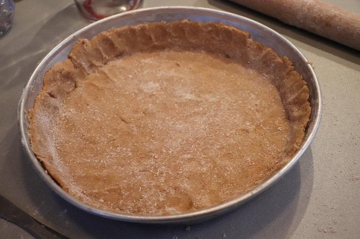 Crostata integrale alla marmellata di albicocche