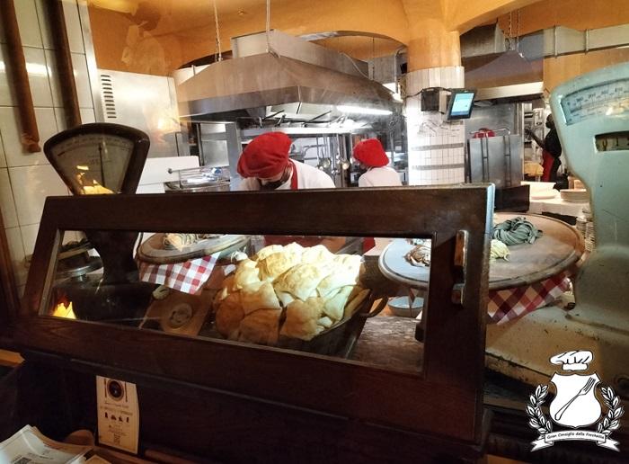 Trattoria Corrieri - Parma - cucine