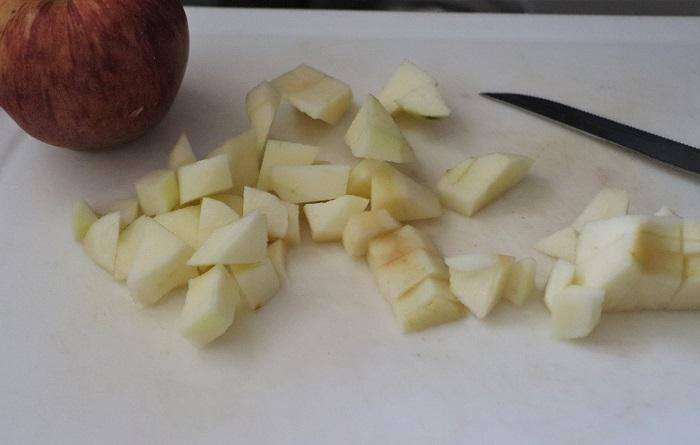 Crostata di composta di mele e cannella 01