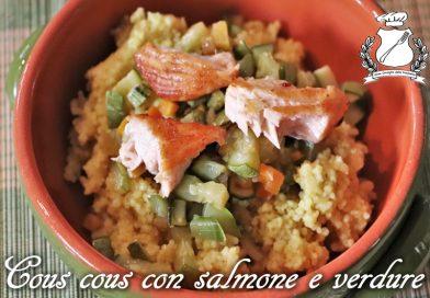 Cous cous con salmone e verdure