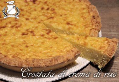 La crostata di crema di riso è una vecchia tradizione popolare, in particolare nelle zone dove si coltivava il riso. Il riso cotto per lungo tempo nel latte può diventare una crema profumata con aromi di limone ed arancio. Un'ottima idea per farcire una crostata di pasta frolla.